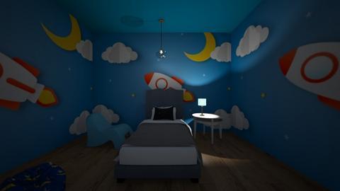 CAMERA DI ASTRONOMIA - Kids room  - by Juliette J