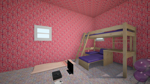 cool place for life - Glamour - Kids room  - by Henry Diggs