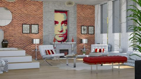Dr No Interior 19th room - by shoalehnia