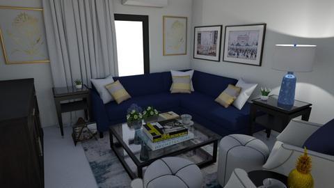 Vitamin Turquesa  - Living room  - by lornareynals