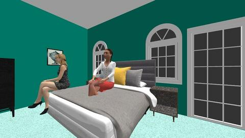 ain and pawpaws room - Bedroom  - by love beyblade