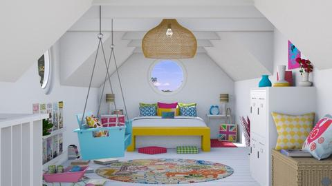 Buhardilla divertida - Bedroom  - by Charipis home