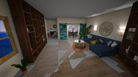 Beach Cottege 2 - Living room  - by Camilla04
