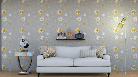 minimalistic living room - Living room  - by Jahsoftball_