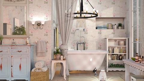 Shabby Chique Bathroom - Vintage - Bathroom  - by Sally Simpson