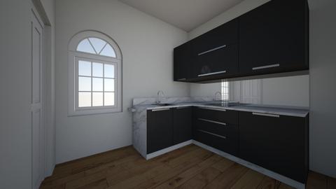 huis van nathalie flahaut - Kitchen - by ANGELOTUMMINO