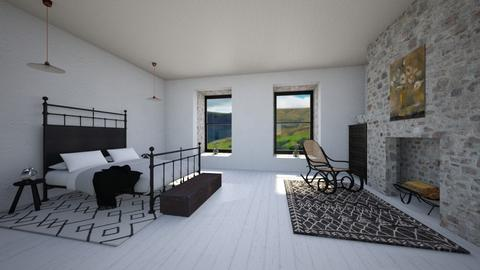 countryhouse minimal - Minimal - Bedroom  - by kitty
