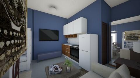 condo 3_0 - Kitchen - by edjsueno