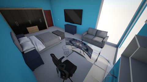 Cuarto infonavit - Bedroom  - by delaconcha_ali