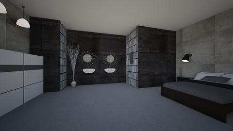 1st Room - Modern - Bedroom - by Charlee Rose