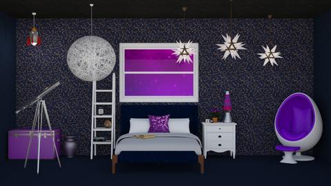Space - Kids room  - by LaylaaaarrrJF