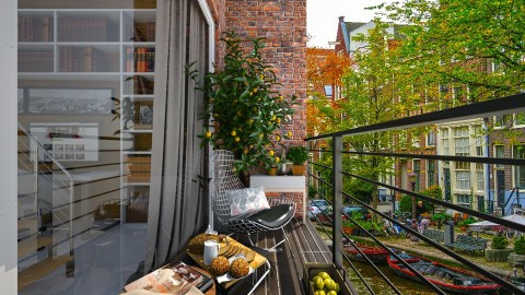 Small Apartment_Balcony - by ayudewi