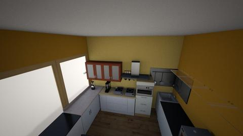 Side 1a - Classic - Kitchen  - by jwal p