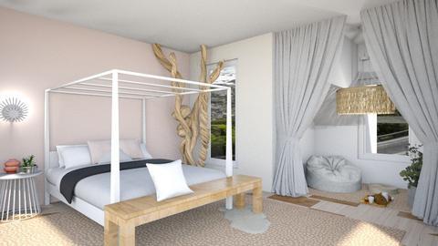 Boho Girls bedroom - Bedroom  - by milk07Designs