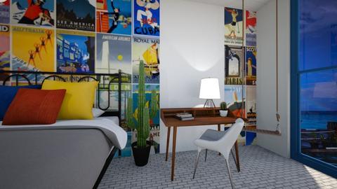 Vintage Retreat - Bedroom  - by KylaTH