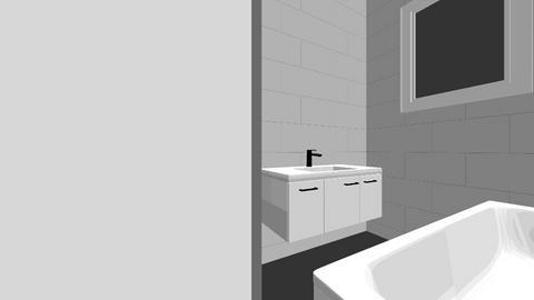 Bad Badewanne links bei T - Living room  - by DarkoMaraz