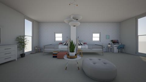 Twins - Bedroom  - by Chayjerad