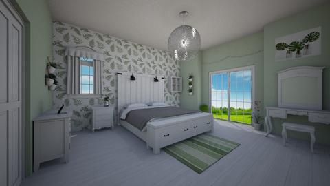sage bedroom - by michaelambrose1