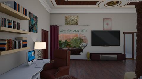 Msr BdRm Hole in Wall - Modern - Bedroom  - by alonatech_2nd
