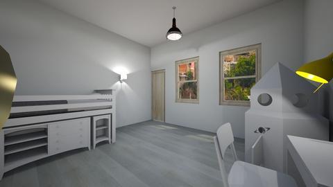 Habitacion Blanco - Kids room  - by clasesytutorias