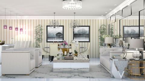 Sophie - Classic - Living room - by aletamahi