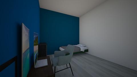 Habitacion Jean Jaures  - Modern - Bedroom - by samido