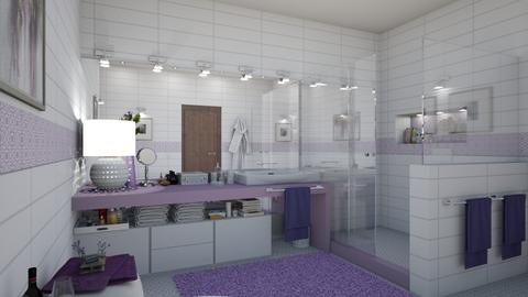 Anne Lize - Modern - Bathroom - by Claudia Correia
