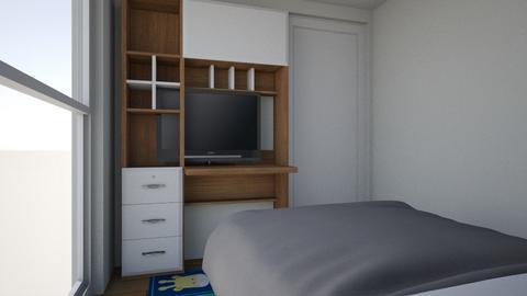 cuarto - Bedroom  - by andycoello