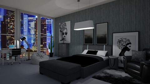 Night Bedroom - Bedroom  - by Chrispow0105