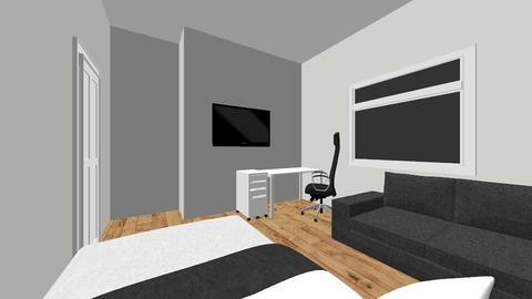 pokoj - Bedroom  - by stask12345678