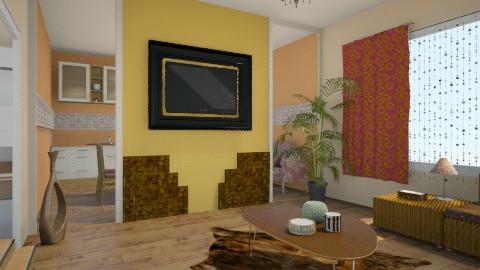 Rustic 2 - Rustic - Living room  - by Sali15