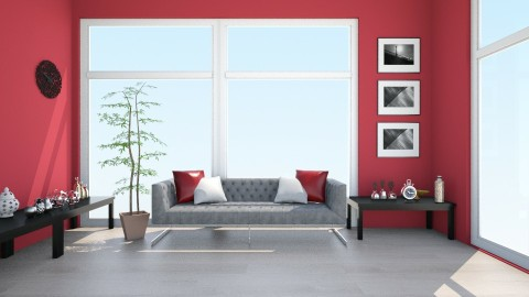 RED n RED - Living room - by libcabene