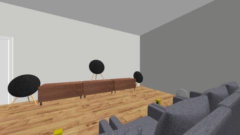 20 x 30 media room - by ThuyHoang