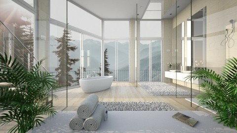 Luxury Bathroom - Modern - Bathroom  - by Ivana J