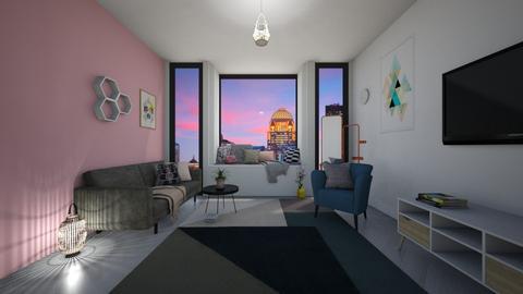 New York Loft - Modern - Living room - by Evie11
