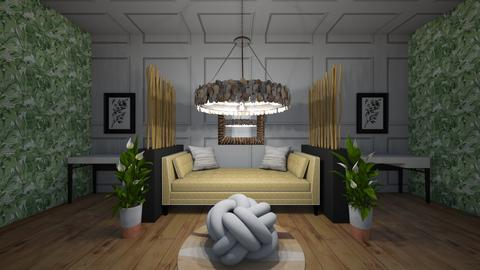 royal chandelier contest - Modern - Living room  - by drip41