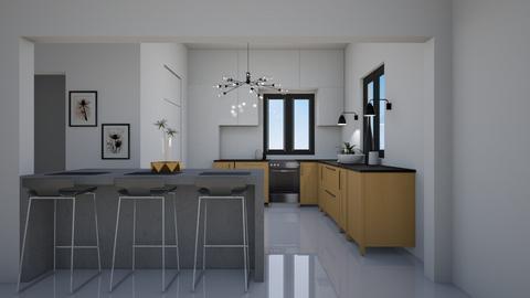 Modern Kitchen - Modern - Kitchen  - by Callmekai22