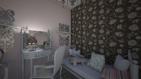 Shebby - Vintage - Bedroom  - by owwwwwwwwwl
