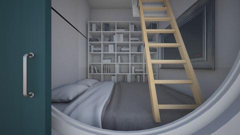 capsule bedroom - Bedroom - by dia17a