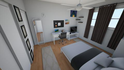 Saimirs Bedroom - Minimal - Bedroom  - by Saimir