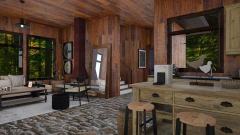 Wood cabin - by rebsrebsmmg