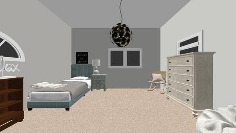 bedroom 1 - Modern - Bedroom - by jillegan