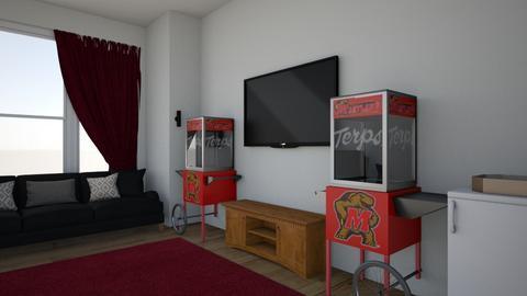 TV room  - Living room  - by Jewellena