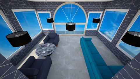 Modern Office Lounge - Modern - Office - by MimiB115