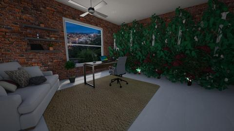 living wall office - Office - by southern gal 13