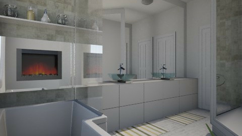 Nakagi Capsule BATH - Modern - Bathroom  - by channing4