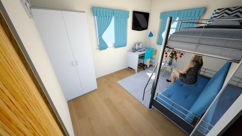 my room - Bedroom - by Saraije