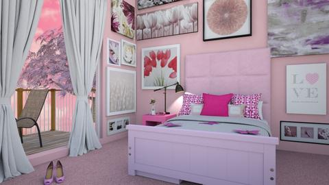 Butterfly Aesthetics - Glamour - Bedroom  - by Shilohfriess
