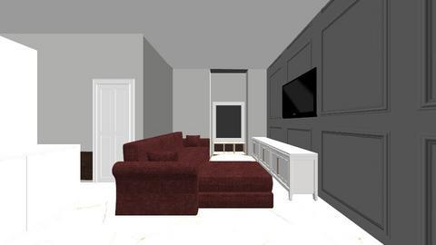 full house finallllllllll - Living room  - by krisha0310