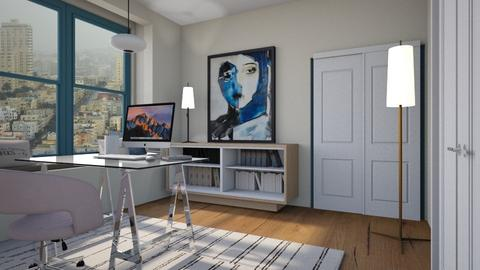 Statement painting - Modern - Office  - by augustmoon